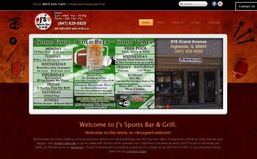 www.JsSportsBarAndGrill.net