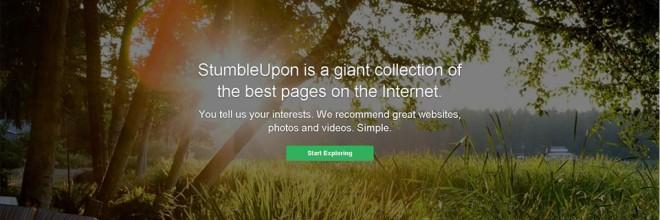 """A fun way to """"Stumble"""" upon new ideas"""